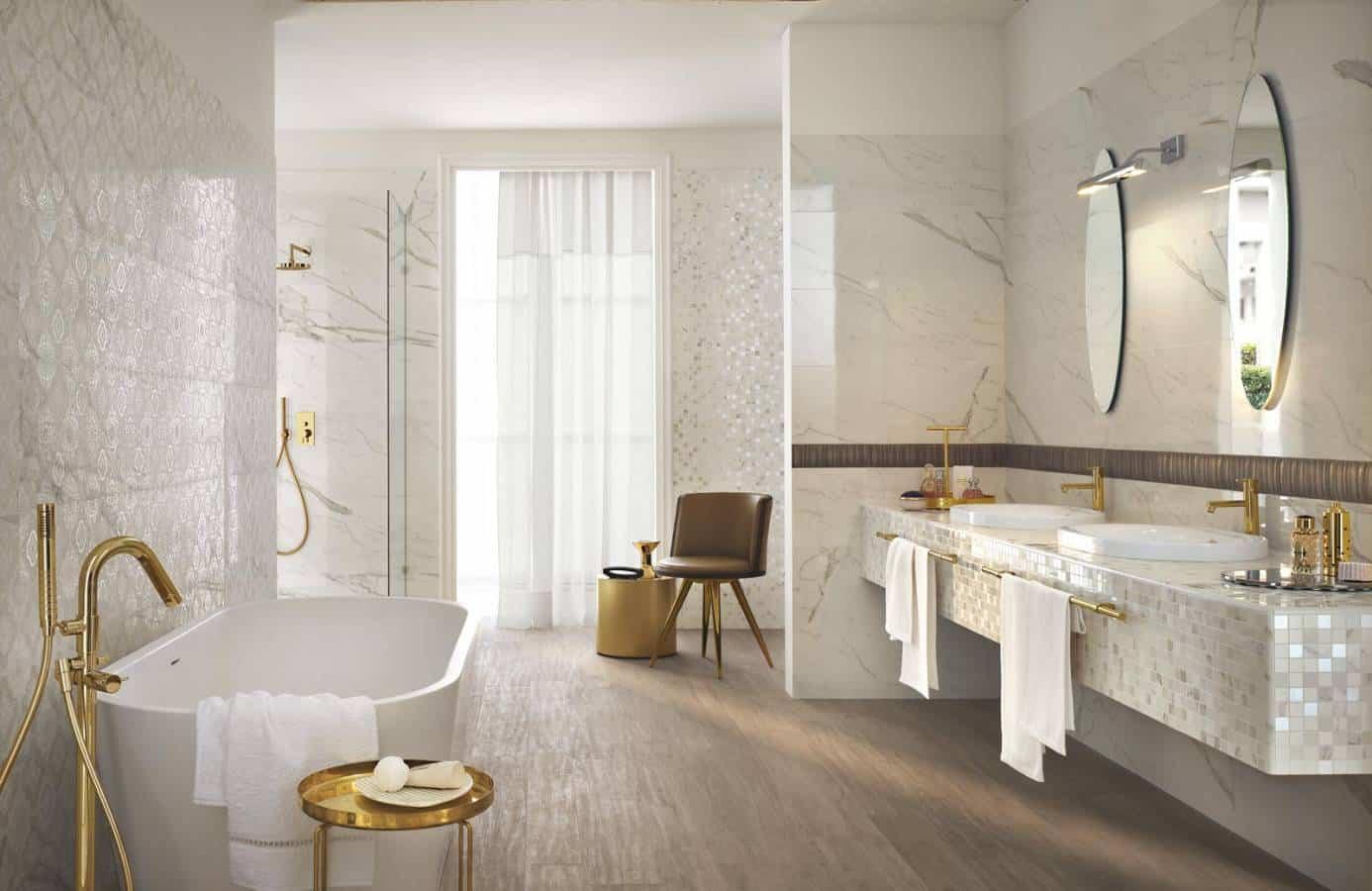 Come scegliere i rivestimenti e le piastrelle per il bagno - Rivestimenti per il bagno ...