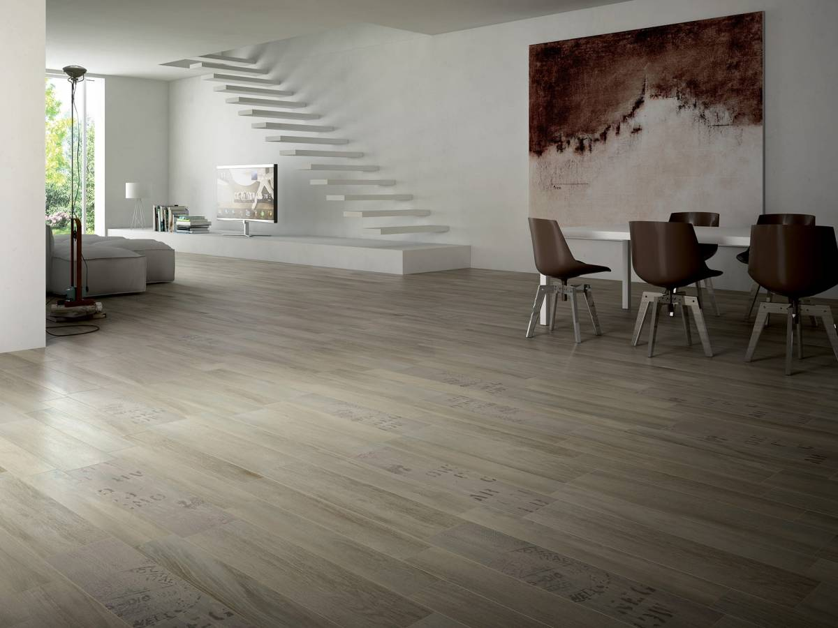 Pavimento in gres porcellanato effetto legno una scelta for Pavimento ceramica effetto parquet